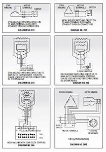What Is Motor Connection Diagram 302 In Nameplate Details