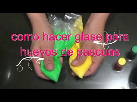 como hacer glase real para huevo de pascua