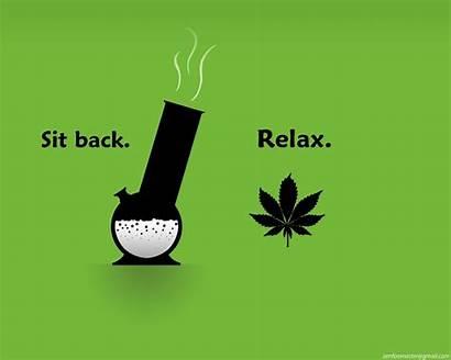 Funny Wallpapers Marijuana Weed Cartoon Relax Computer