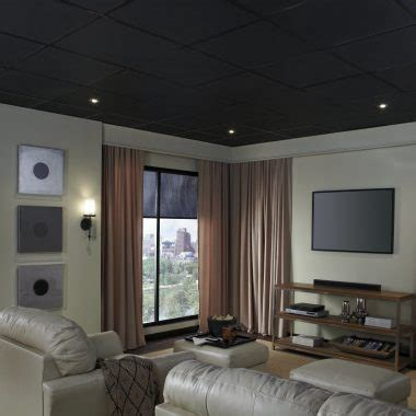 Gray Drop Ceiling Tiles by Drop Ceiling Installation Ceilings Armstrong Residential