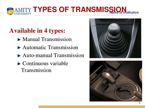 Transmission In Maruti Cars