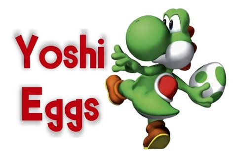 Mario Kart Yoshi Egg Label I Printed This In A 4x6 And