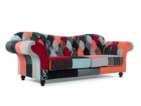 canape patchwork sofas habitat newman recamiere aus leder habitat atwood