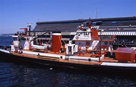 Boat Fire Seattle by Seattle Fire Boats