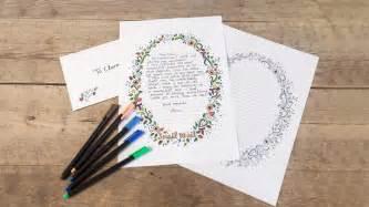 diy printable writing paper template  sostrene grene