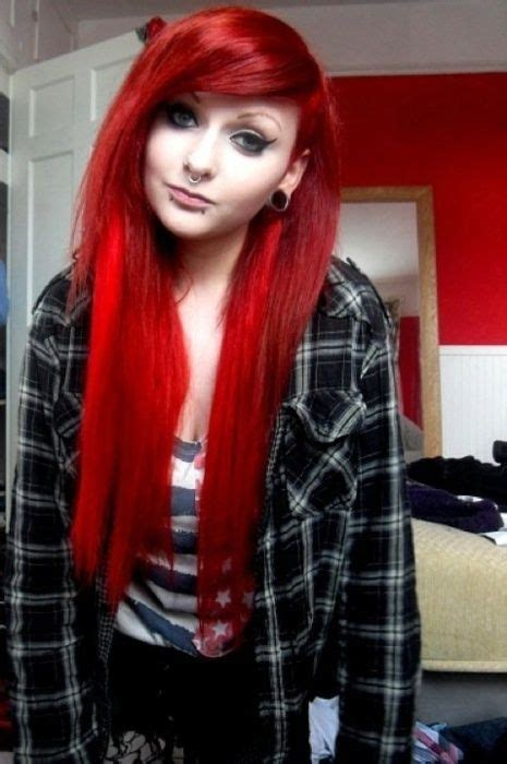 Scene Girl with Red Hair Tumblr