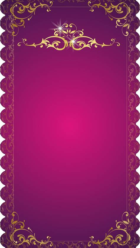 wedding invitation vector background material indian