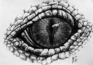 dragon eye by WolfOfHorror on DeviantArt