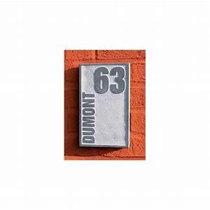 Plaque Numero De Rue : plaque num ro de rue en pierre naturelle board 1 avec ~ Melissatoandfro.com Idées de Décoration