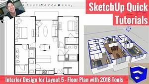 Creating A Floor Plan In Layout With Sketchup 2018 U0026 39 S New