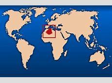 algérie carte du monde • Voyages Cartes