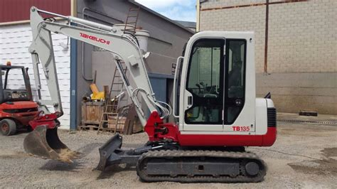 takeuchi tb mini excavators