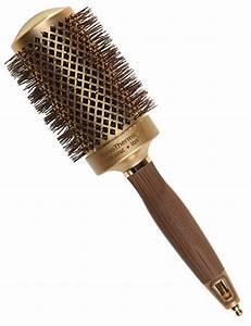 Olivia garden nanothermic ceramic ion round hair brush 2 1 for Olivia garden round brush