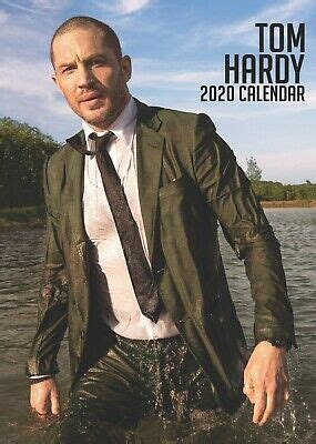tom hardy calendar large uk wall poster size sealed