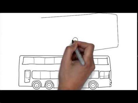 comment dessiner  bus moin dune minute youtube