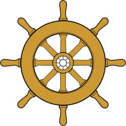 Boat Wheel by When Did The Dhamma Wheel Become A Boat Wheel Dhamma Wheel