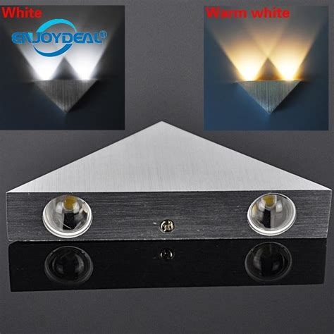 3w 3led bedside l indoor bedside wall l white shell white light stair up down wall light