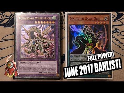 yugioh best power magician deck profile new june 12th 2017 banlist ft gabe