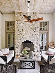 Creative, Outdoor, Fireplace, Designs, And, Ideas