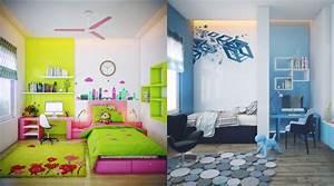 couleur chambre d39enfant et ado 25 exemples inspirants With idee deco chambre enfants