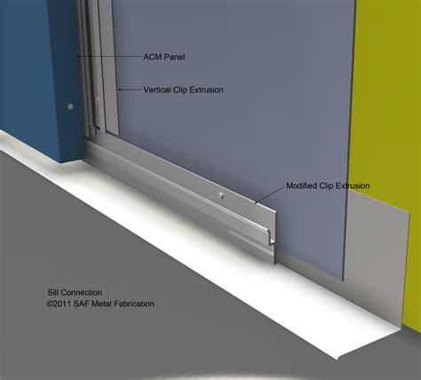 series  rainscreen panel system saf panels saf southern aluminum finishing