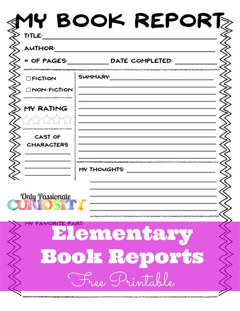 Book Reports Elementary elementary book reports made easy homeschooling book