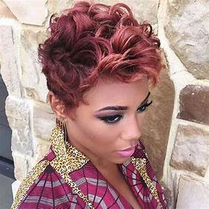 2018 Short Haircuts for Black Women 57 Pixie Short Black Hair ideas Page 11 HAIRSTYLES