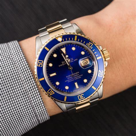 Rolex Submariner 16803 Blue Men's Watch