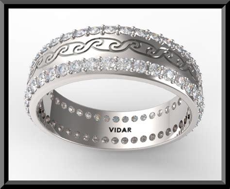 Womens Diamond Wedding Band Platinum