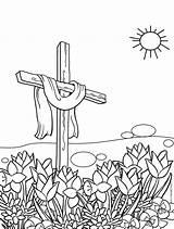 Coloring Cross Easter Pages Printable Cool Crosses Easy Cool2bkids Getcolorings Rocks sketch template