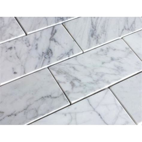3x6 carrara marble tiles 3x6 carrara white honed marble tile