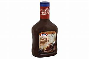 Kraft Sweet Honey Barbecue Sauce 28 oz. Bottle