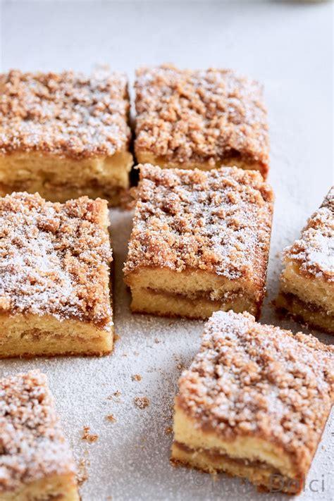 brown butter cinnamon streusel coffee cake tutti dolci