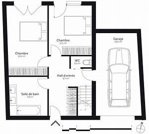 Connaitre Orientation Maison : plan maison 90 m avec terrasse ooreka ~ Premium-room.com Idées de Décoration