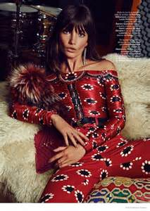Lily Aldridge is a 70s Dream in S Moda Shoot by David ...