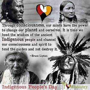 Happy Indigenous People's Day! This holiday...