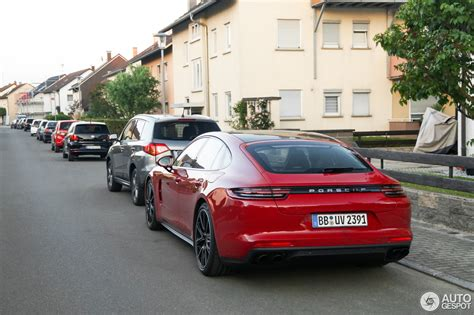 porsche panamera hybrid red there 39 s no way you can miss a red porsche panamera turbo s