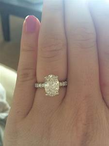 proposal ring on hand wwwimgkidcom the image kid has it With what hand wedding ring