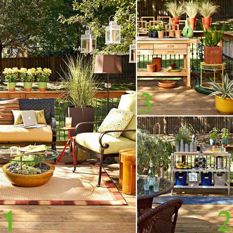 Easy Kitchen Storage Ideas - deck decorating ideas how to plan and design an outdoor living space