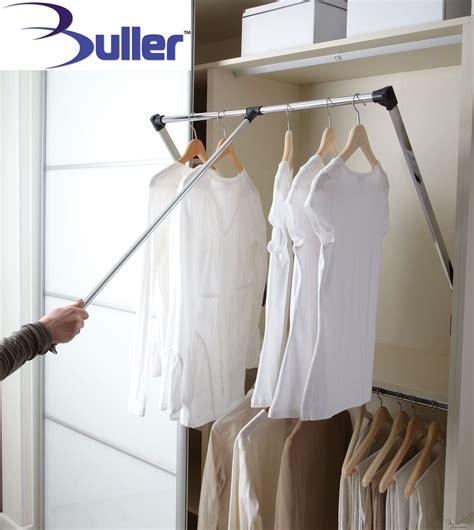 lift pull  wardrobe rail