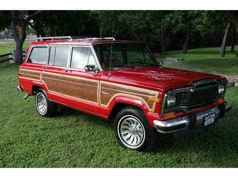 classic jeep wagoneer for sale 1985 jeep wagoneer for sale classiccars com cc 1001395