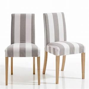 Chaises La Redoute Interieur : chaise d houssable inqaluit lot de 2 chaises la redoute ventes pas ~ Teatrodelosmanantiales.com Idées de Décoration