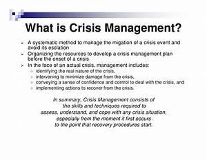 35 management plan example free amp premium templates With sample crisis management plan template