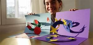 Pop Up Weihnachtskarten : wundersch ne popup karten mit kindern basteln f r hochzeiten geburtstage ~ Frokenaadalensverden.com Haus und Dekorationen