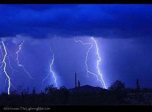 High Desert Lightning Storm