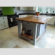 Freestanding Kitchen Islands  Painted Kitchen Islands