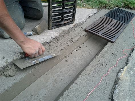 concrete driveway drainage dominic s paving frederick md 21703 angies list