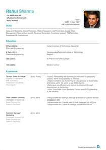 What Is The Format Of Resume by Resume Format Cv Format Resume Sle At Aasaanjobs