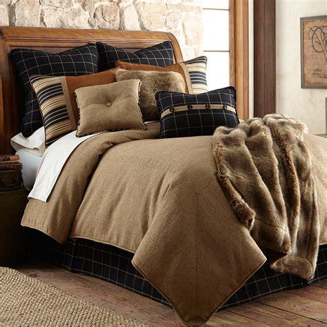 rustic king size comforter sets rustic elegance ashbury bedding sets cabin place