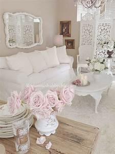 Chic Home Living : romantic shabby chic living room ideas noted list ~ Watch28wear.com Haus und Dekorationen